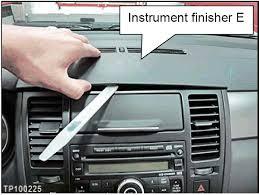 2007 2009 nissan versa radio removal procedure nissanhelp com