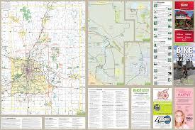 Grand Rapids Michigan Map by Bikegrmap 2011 Back2 Jpg