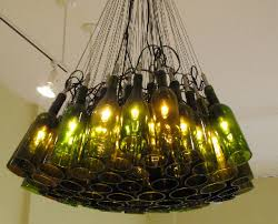Chandelier Creative Ultimate Wine Bottle Light Fixture Chandelier Creative Interior