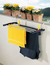 Space Saving Laundry Ideas White by Over The Door Laundry Drying Rack Also Fits Over The Balcony