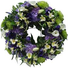 funeral wreaths calla funeral wreath magnolia flowers tring