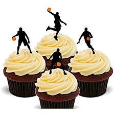 basketball cake toppers wilton cake design cake decoration basketball 7 pieces