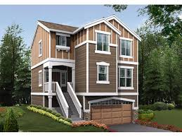 narrow lot house plans craftsman 31 best house plans narrow lot with view images on