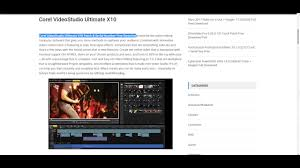 corel videostudio ultimate x10 patch u0026 serial number free download