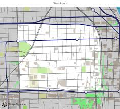 Map Chicago Loop by Map Of Building Projects Properties And Businesses In The West
