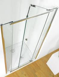 bifold shower door frameless kudos infinite 1200mm bi fold shower door with tray and waste