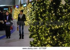 Commercial Christmas Decorations Belfast by Christmas Lights At Victoria Square Belfast Stock Photo Royalty