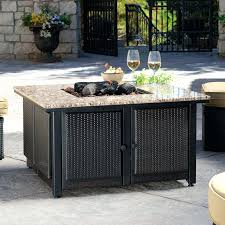 rectangle propane fire pit table fire pit rectangular propane fire pit table exterior dining