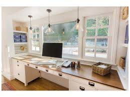 recessed baseboard blue wall recessed lighting gray floors white pendant lights