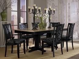 Horchow Home Decor Decor Transitional Dining Room Using Brown Furniture And Area Rug