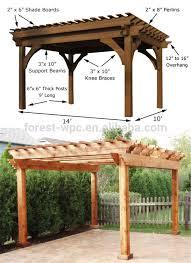 Wooden Pergolas For Sale by Wooden Gazebo Canopy Wood Canopies Outdoors Wooden Gazebo Canopy