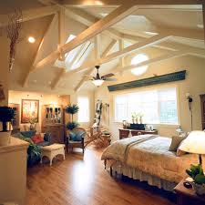 Traditional Bedroom Decorating Ideas Pictures - classic home with vaulted ceilings traditional bedroom st