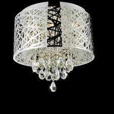 Ceiling Mount Chandelier Light Fixture Brizzo Lighting Stores 16 Web Modern Laser Cut Drum Shade