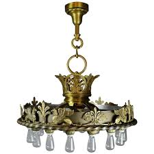 Commercial Chandeliers Commercial Beaux Arts Chandelier From The Masonic Lodge Kansas