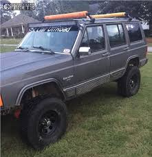 jeep cherokee off road tires 1989 jeep cherokee pacer soft 8 rustys off road suspension lift 45in