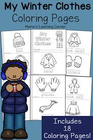 winter coloring pages winter preschool winter and activities