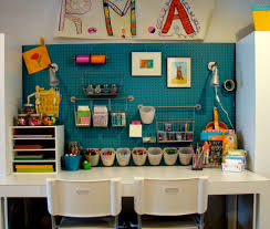 wall art craft with white table kids transitional and themed kids