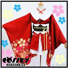 Sakura Halloween Costume Arrival Unbreakable Machine Doll Yaya Sakura Kimono Cosplay