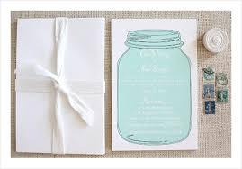 jar invitations jar wedding invitation suite