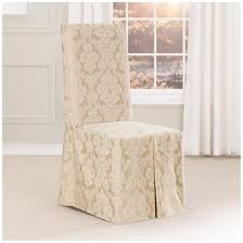 sure fit middleton long dining room chair slipcover 581240