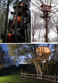 Tree House Backyard by Sky High But Grounded 16 Incredible Tree Houses Urbanist