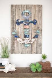 wooden anchor wall wood anchor wall by firefly home collection 27 99 decor