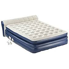 trend serta air mattress with headboard 14 with additional king