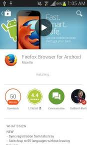 firefox for android install firefox on an android device using play firefox