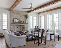Hampton Bay Outdoor Fireplace - hampton bay ceiling living room traditional with fireplace