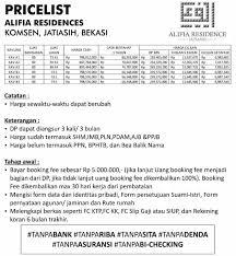 cara membuat imb semarang harga alifia residencec perumahan syariah mewah di jatiasih jpg