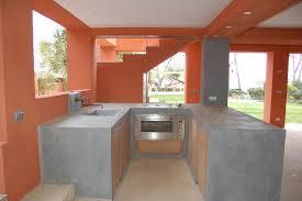 cuisine en beton beton cire faktoficio