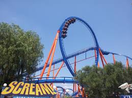 Six Flags Magic Mountain Directions Twisted Colossus And Screampunk District Open At Six Flags Magic