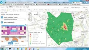 Crime Spot Map Investigating Crime Part 4 Spot Analysis In Arcgis Online