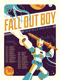 Guys Dorm Room Posters Fall Out Boy Dave Perillo Tour Poster Poster It Pinterest