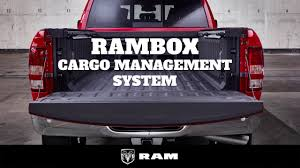 ram trucks genius rambox cargo management system youtube