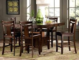 how tall is a dining table tall dining table bench furniture of modern black counter height