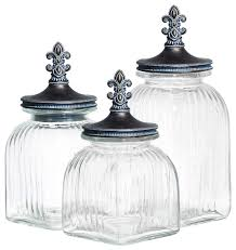 glass kitchen canister types and design of glass kitchen canisters dtmba bedroom design