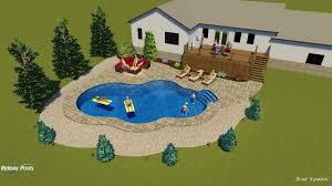 Lagoon Swimming Pool Designs by 20x24x40 Lagoon Shaped Pool Design By Rideau Pools Ottawa Youtube