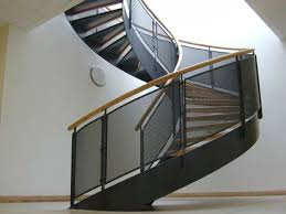 metal railing perforated sheet metal outdoor for stairs