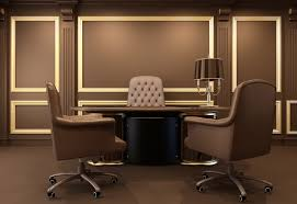 Design Home Office Network by Amazing Personal Office Design With Great Sofa Set And Lighting
