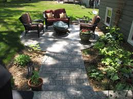 stamped concrete patio design ideas landscaping gardening ideas