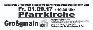 Bad Bergzabern Plz A 5084 Großgmain Don Kosaken Chor Wanja Hlibka