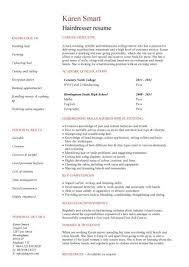 cosmetology resume template cosmetology resume exles resume badak