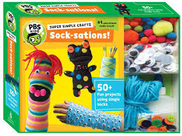 super simple crafts socksations pbs kids the editors of pbs