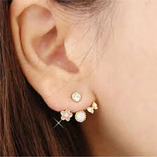 aliexpress buy new arrival hight quality white gold aliexpress buy h hyde fashion earing white gold