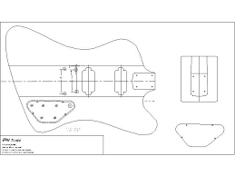 28 bass guitar templates precision bass guitar pickguard