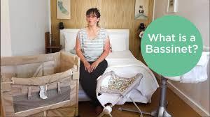 Mini Crib Vs Bassinet by What Is A Bassinet Youtube