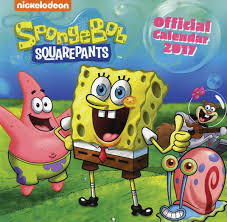 spongebob squarepants calendar 2017 2017 calendars pinterest