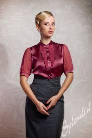 in satin blouses satin blouse with satin skirt other dresses dressesss
