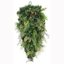 swag wreaths garland the home depot